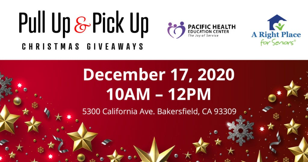 pull up pick up christmas 2020 food drive