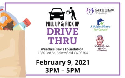 PULL UP & PICK UP February 9 FOOD DRIVE