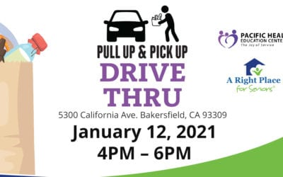 Pull up & Pick up January Food Drive