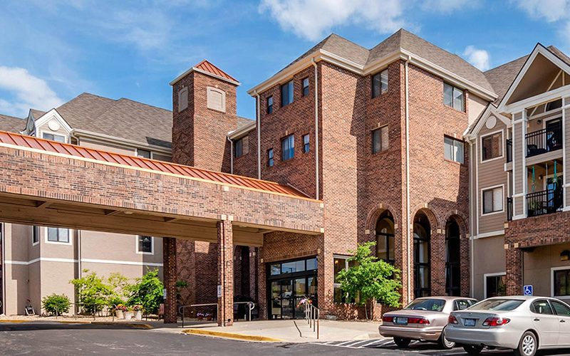 Brookdale Assisted Living Facility in Kansas City, Missouri