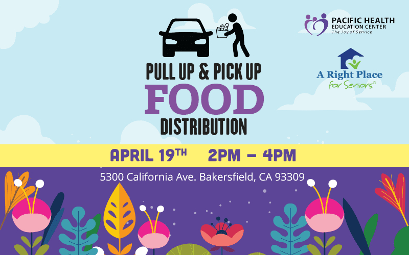 April 19 Food Drive in Bakersfield