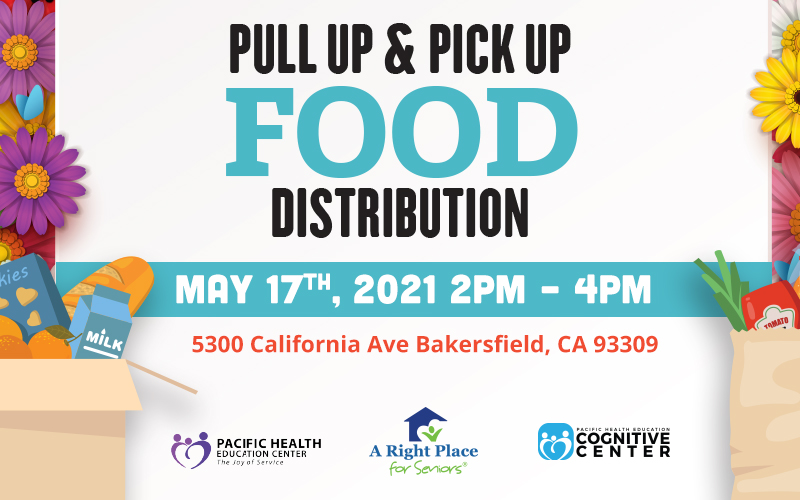 May 17 Food Drive in Bakersfield